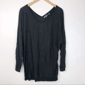 Vince Cashmere Blend Scoop neck Sweater Tunic
